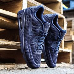 """BAIT Inc. no Instagram: """"Nike Men's Air Max 90 Ultra BR in midnight navy is available in sizes 8-12 for $130 at BAIT Seattle. Phone orders are accepted at 206.257.1178. These will arrive at BAIT Diamond Bar soon. #nike #nikeairmax90ultra #baitme #bait"""""""