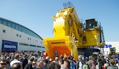 Komatsu's PC7000 in action. Photo courtesy of Messe Munchen.
