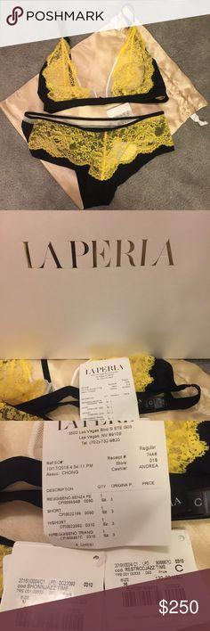 NWT La Perla bra and panty set. NWT La Perla bra and pants set, never worn. M bottom and 36 C bra. La Perla Intimates & Sleepwear