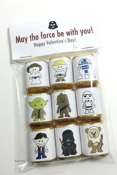 Star Wars Valentine's Candy Wrappers - The Idea Room