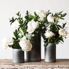 Zinc Norah Vase - Magnolia Market   Chip & Joanna Gaines