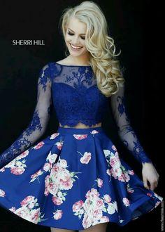Hermoso color de vestido