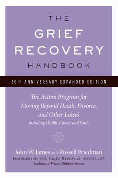the grief recovery handbook pdf