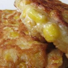 Corn Fritters....wonder if they are like corn nuggets...yum!