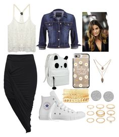 """""""School"""" by deborahoyetunde ❤ liked on Polyvore featuring moda, Wet Seal, maurices, Converse, Casetify, Charlotte Russe, Karen Kane ve Forever 21"""