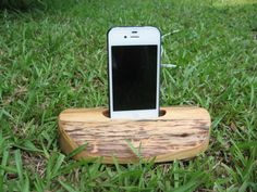 Hand made iPhone/ iTouch holder charging & docking station $25.00