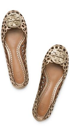 Tory Burch I want these shoes! Never really wanted a pair of Tory Burch's before but these I love!
