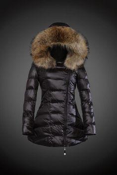 Manteau duvet et fourrure femme