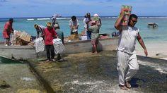 Tokelau fishermen