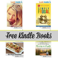 Free Kindle Book List: Until Forever, Simply Frugal, 34 Quick Recipes, and More