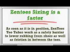 ZenToe Toe and Finger Tubes – Fabric Sleeve Protectors with Gel Lining