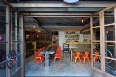 Craft&Commerce Restaurant in San Diego designed by Basile Studio.