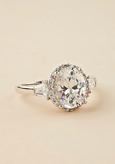 Another beautiful engagement ring.
