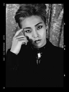 Xiumin for the comeback LOTTO