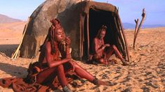 The Kaokoveld  Often described as one of the last true wildernesses in southern Africa, the Kaokoveld desert is home to the Himba, a group of nomadic pastoralists who are famous for covering their skin with a traditional mixture of ochre and bush herbs to protect themselves from the sun.