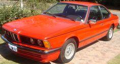 BMW 635 CSI año 1981, toda original, llantas, radio, herramientas, 186000 km. reales.  http://www.arcar.org/bmw-635-csi-46002