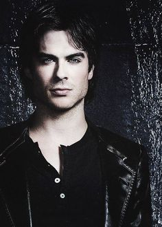 Ian Somerhalder/Damon Salvatore on the Vampire Diaries. The hottest vampire on television! He can compel me anytime.