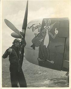 56th Fighter Group, 62nd Fighter Squadron P-47C. Pilot John Bryant.