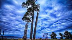 Taupo lake in the sky