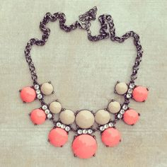 Lovely statement necklace