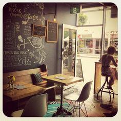 White fire cafe/bar