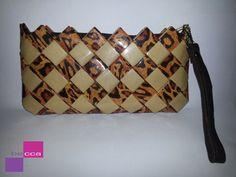Tiger mix Print Paper Clutch  Wristlet  candy by beccahandbags ♡♡