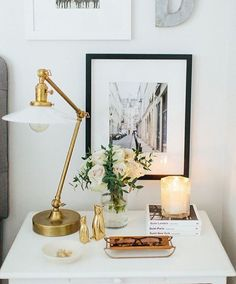 How to Style a Nightstand | Nightstands, Bliss and Bedrooms