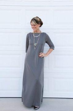 659b2ae5865 Вот как пошить стильное платье БЕЗ выкройки СВОИМИ РУКАМИ. Мастер ...