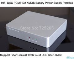 HIFI DAC Decoder PCM5102 XMOS Battery Power Supply Portable Support Fiber Coaxial 192KHz 24Bit USB 384KHz 32Bit  Free Shipping,High Quality Amplifier from WISTAO HIFI BLUETOOTH AUDIO & 3C MALL on Aliexpress.com  US $159.00 / piece