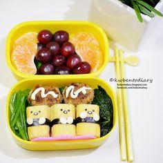 Karenwee's Bento Diary: Bento2015#Sep21~Gudetama Tamago Sushi
