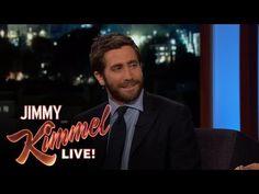 Jimmy Kimmel Live: Jimmy Kimmel Tries On Jake Gyllenhaal's Lipstick