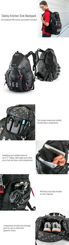 f437433450bb Oakley Kitchen Sink Backpack  promotional  product  hooplapromo  backpack   bags