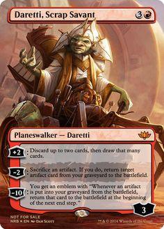 Daretti new 2014 commander / plains walker