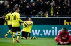Die beiden starken Dortmunder: Robert Lewandowski und Nuri Sahin.