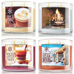 Already? Yes, the Bath & Body Works Winter and Holiday 2014 Candles have launched! There are a new range of Fall/Thanksgiving 2014 White Barn Candles a