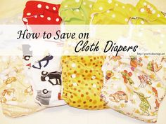 Thinking about switching to cloth diapers for your little one? Here are several ways to save on the initial cost of cloth diapering. Frugal Tips, Doula, Ways To Save, Cloth Diapers, Future Baby, Beautiful Babies, Little Babies, Just In Case, Saving Money