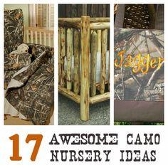 17 Awesome Camo Nursery Ideas < Country baby paradise :)