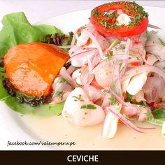 Peruvian food. Que Rico Ceviche