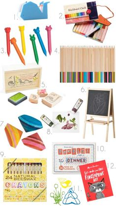 Gifts for Little Artists Apartment Therapy Gift Guide 2012