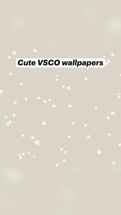 Cute VSCO wallpapers