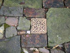 hAvon Cottage /England Mosaik im Weg