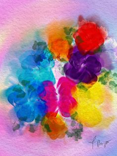 The Floral Effect by Frank Bright   #floral #flowers