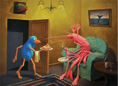 Fermin Eguia - ilustrador surrealista argentino.