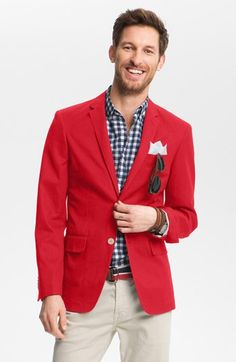 Loving this red blazer. Am I crazy?