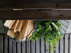 domargard-saunan-lattia Wood, Summer, House, Summer Time, Woodwind Instrument, Home, Timber Wood, Trees, Homes