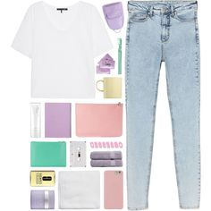 How To Wear cotton candy... [TOP SET] Outfit Idea 2017 - Fashion Trends Ready To Wear For Plus Size, Curvy Women Over 20, 30, 40, 50