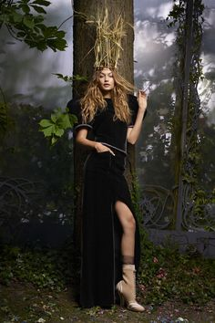 """GiGi Hadid's Couture Fairytale"" Gigi Hadid by Karl Lagerfeld for Harper's Bazaar US October 2016"