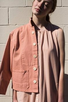 rennes .  Caron Callahan Krasner Jacket Peach . it's back!