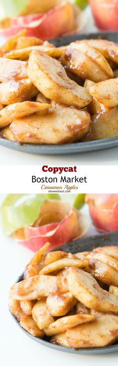 These are so awesome!! Copycat Boston Market Apples! ohsweetbasil.com