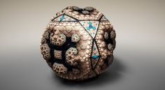 Faberge Fractals by Tom Beddard